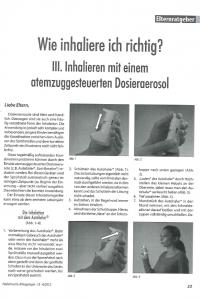 inhalation mit autohaler